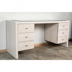Paul Marra Design Modern Desk in Bleached Oak by Paul Marra - 1306288