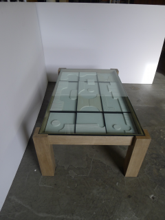 Paul Marra Design Modernist Frieze Cocktail Table by Paul Marra - 1264527