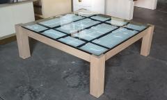 Paul Marra Design Modernist Frieze Cocktail Table by Paul Marra - 1264532