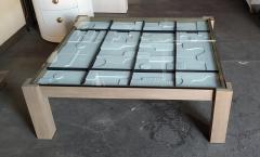 Paul Marra Design Modernist Frieze Cocktail Table by Paul Marra - 1264533