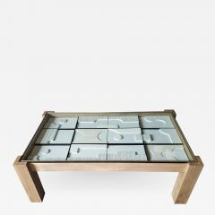 Paul Marra Design Modernist Frieze Cocktail Table by Paul Marra - 1265065