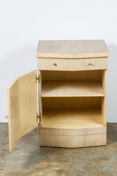 Paul Marra Design Pinnacle Nightstand in Bleached Douglas Fir - 1341607