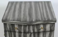 Paul Marra Design Pinnacle Nightstand in Zebra Finish - 1376288