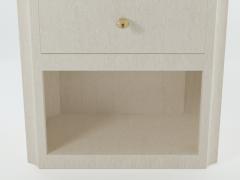 Paul Marra Design Scalloped Corner Nightstand - 1938135