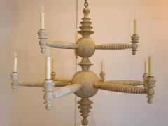 Paul Marra Design Spool Chandelier Two Tier by Paul Marra - 1285580