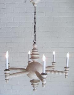 Paul Marra Design Spool Chandelier in Driftwood by Paul Marra - 1276522