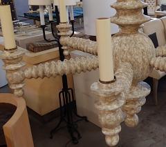 Paul Marra Design Spool Chandelier in Driftwood by Paul Marra - 1276628