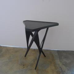 Paul Marra Design Triangular Steel Side Table - 1339276