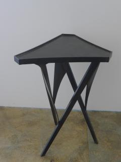 Paul Marra Design Triangular Steel Side Table - 1339277