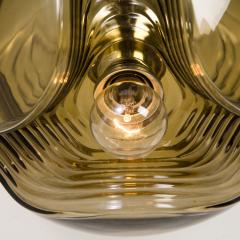 Peill Putzler Large Set of Koch Lowy Smoked Glass Wall Sconces or Lights by Peill Putzler - 1027361