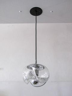 Peill Putzler Set of Three Clear Glass Hanging Lights - 718586