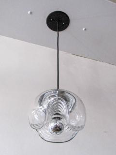 Peill Putzler Set of Three Clear Glass Hanging Lights - 718589
