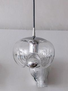 Peill Putzler Set of Three Clear Glass Hanging Lights - 718591