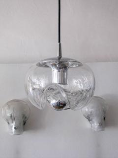 Peill Putzler Set of Three Clear Glass Hanging Lights - 718592