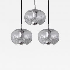 Peill Putzler Set of Three Clear Glass Hanging Lights - 721229