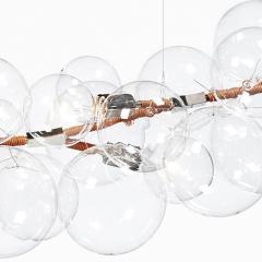 Pelle Bubble Chandelier Long 62 - 1812130