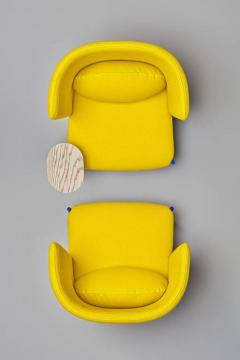 Perezochando Ara Yellow Armchair by PerezOchando - 1331661