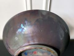 Pewabic Pottery Large Iridescent Pewabic Ceramic Centerpiece Bowl - 1796735