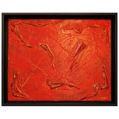 Philip Neri Philip Neri Framed Abstract Painting 1970 - 791922