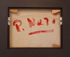 Philip Neri Philip Neri Framed Abstract Painting 1970 - 791924