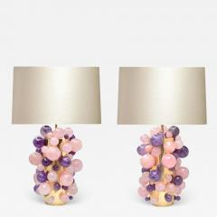 Phoenix Gallery Cherry Blossom Rock Crystal Bubble Lamps by Phoenix - 1902026