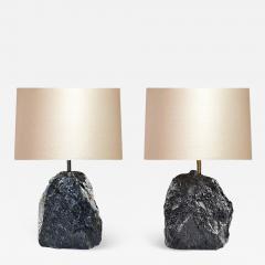Phoenix Gallery Dark Rock Crystal Lamps by Phoenix - 1902014