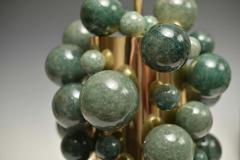 Phoenix Gallery Green Rock Crystal Bubble Lamps by Phoenix - 1899776