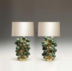 Phoenix Gallery Green Rock Crystal Bubble Lamps by Phoenix - 1899779
