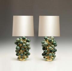 Phoenix Gallery Green Rock Crystal Bubble Lamps by Phoenix - 1899780