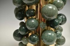 Phoenix Gallery Green Rock Crystal Bubble Lamps by Phoenix - 1899782