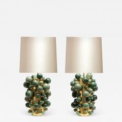 Phoenix Gallery Green Rock Crystal Bubble Lamps by Phoenix - 1902031