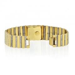 Piaget PIAGET 18K YELLOW GOLD MENS DIAMOND POLO 7131 C705 WATCH - 1858329