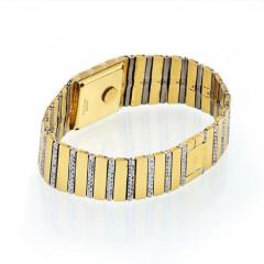 Piaget PIAGET 18K YELLOW GOLD MENS DIAMOND POLO 7131 C705 WATCH - 1858332