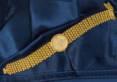 Piaget Piaget Boule dor 18 Kt YG 1970s Motif Wristwatch - 518871