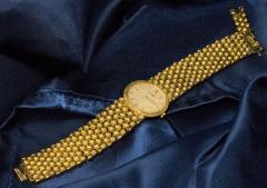 Piaget Piaget Boule dor 18 Kt YG 1970s Motif Wristwatch - 518873