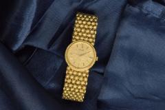Piaget Piaget Boule dor 18 Kt YG 1970s Motif Wristwatch - 518890
