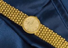 Piaget Piaget Boule dor 18 Kt YG 1970s Motif Wristwatch - 518891