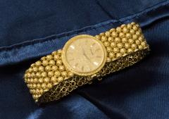 Piaget Piaget Boule dor 18 Kt YG 1970s Motif Wristwatch - 518893