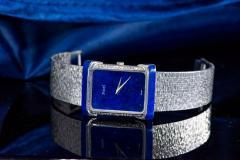 Piaget Piaget Lapis Large 1970s 18 Karat White Gold Diamond Bracelet Watch - 1142723