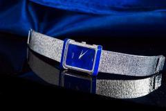 Piaget Piaget Lapis Large 1970s 18 Karat White Gold Diamond Bracelet Watch - 1142724