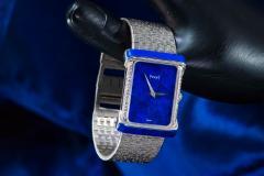 Piaget Piaget Lapis Large 1970s 18 Karat White Gold Diamond Bracelet Watch - 1142725