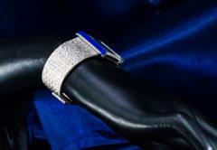 Piaget Piaget Lapis Large 1970s 18 Karat White Gold Diamond Bracelet Watch - 1142730