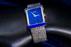 Piaget Piaget Lapis Large 1970s 18 Karat White Gold Diamond Bracelet Watch - 1142732