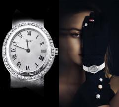 Piaget Rare Piaget 1970s Factory Diamond Set 18 KT White Gold WristWatch - 867726
