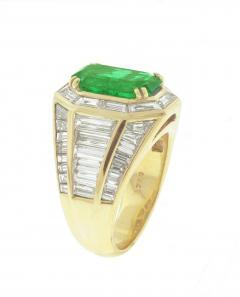 Picciohitti Picchiotti Emerald Diamond Gold Ring - 425050