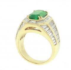 Picciohitti Picchiotti Emerald Diamond Gold Ring - 425051