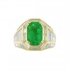 Picciohitti Picchiotti Emerald Diamond Gold Ring - 428197