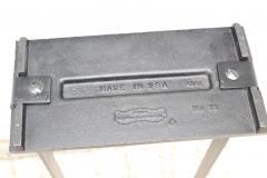 Pilgrim Manufacturing 1960s Modernist Brass Fireplace Tools By Pilgrim - 2046100