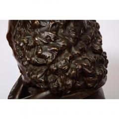Pinedo Rare French Bronze Bust of William Shakespeare by Carrier Belleuse and Pinedo - 1110861