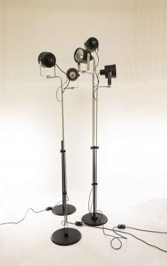 Pio Luigi Brusasco and Giovanni Torretta Three P433 floor lamps by Brusasco Torretta for Luci Italia 1970s - 1693859